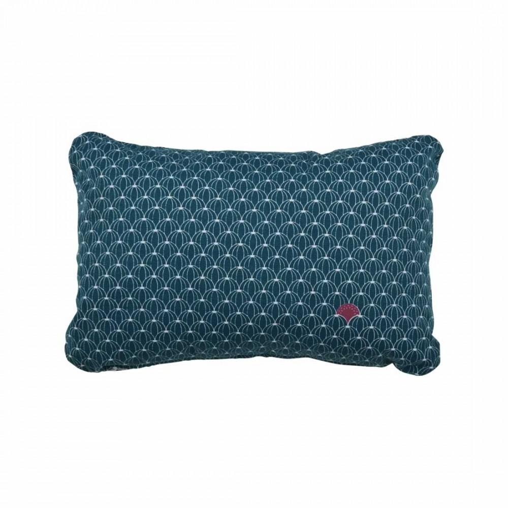 Fermob Kissen Pasteques. Ein rechteckiges Fermob Outdoor-Kissen in brillianter Farbe, passend für alleFermob Kissen Envie d Ailleurs, Pasteques, 44 x 30 cm.