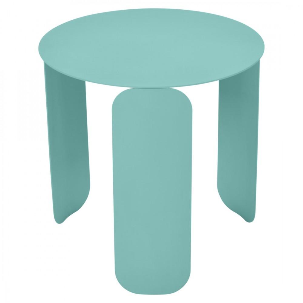 Fermob niedriger Tisch Bebop, Ø 45 cm