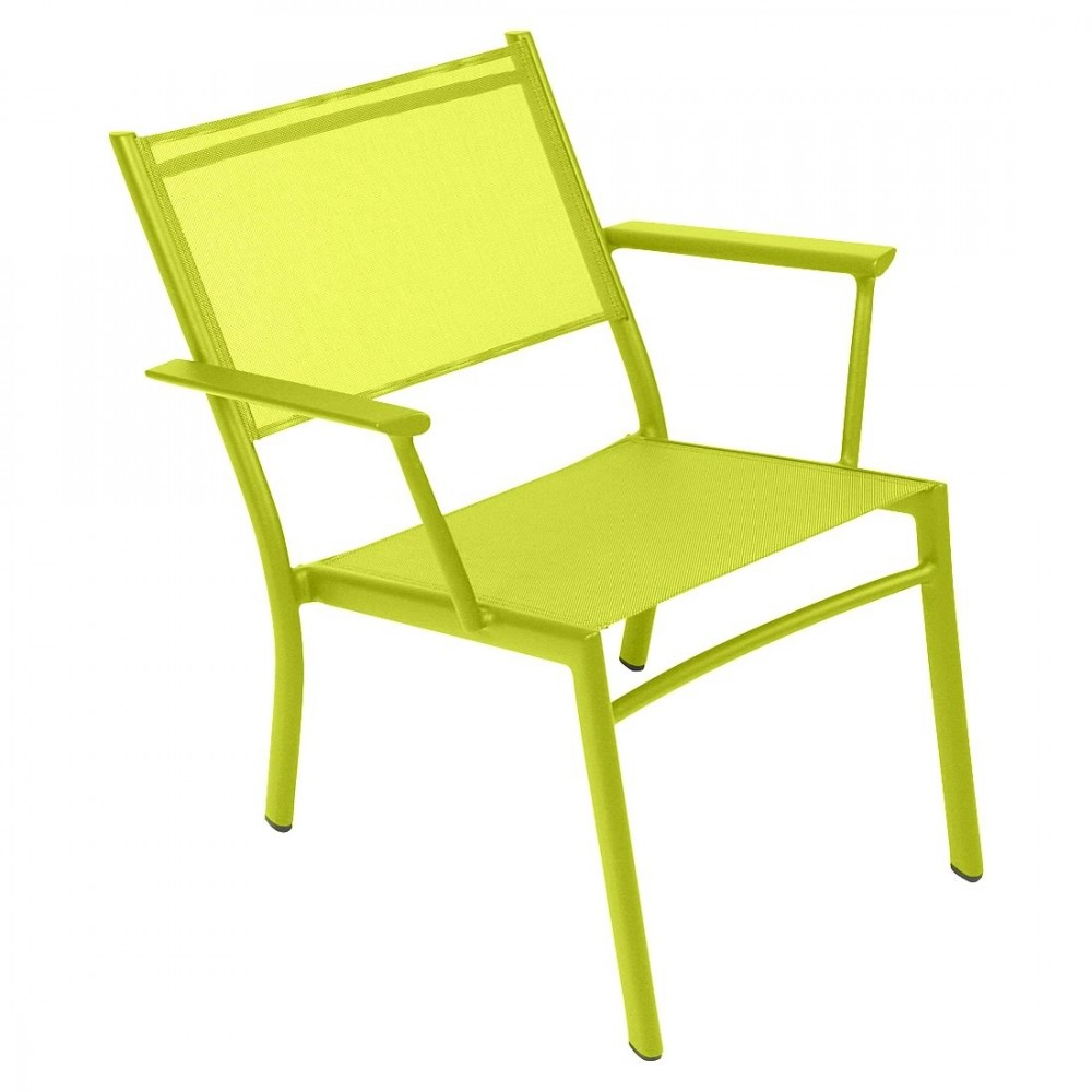 Fermob tiefer Sessel Costa - Eisenkraut
