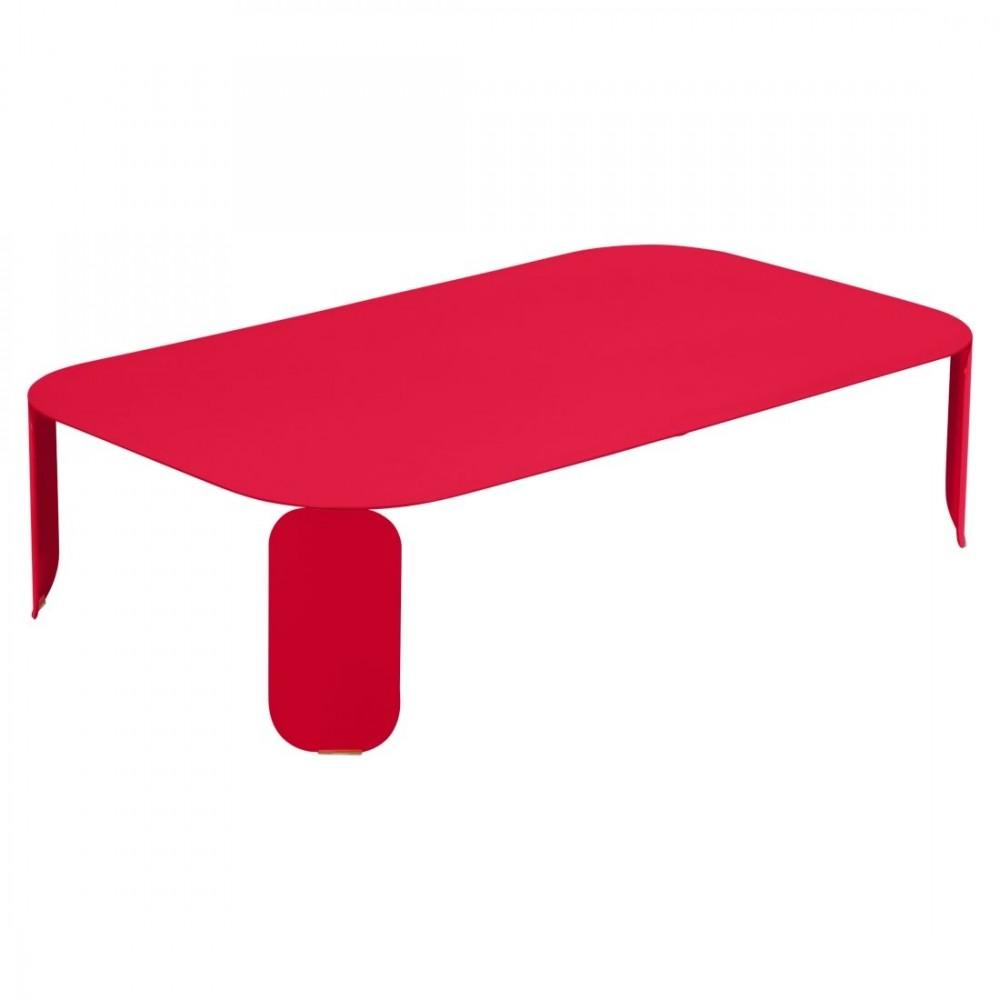 Fermob niedriger Tisch Bebop, 120 x 70 x 29 cm