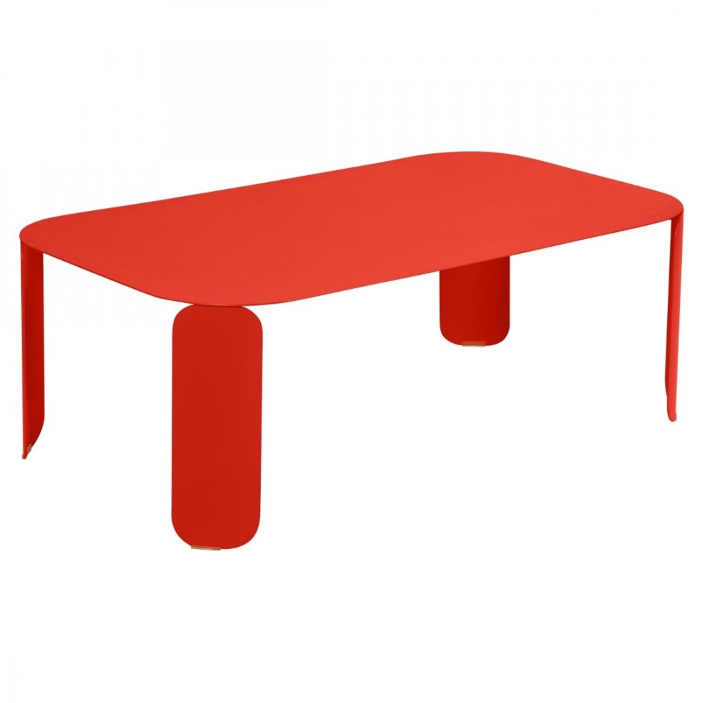 Fermob niedriger Tisch Bebop, 120 x 70 x 42 cm