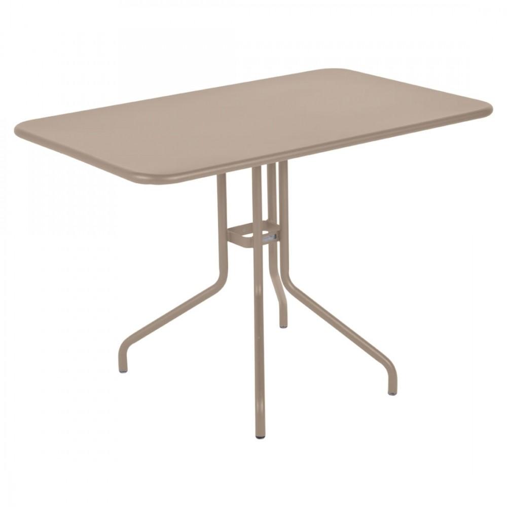 Fermob Tisch Petale, kippbar - 110 x 70 cm - Muskat