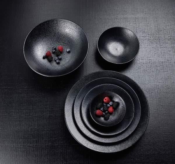 Stoneware Kaori - Schwarz metallic