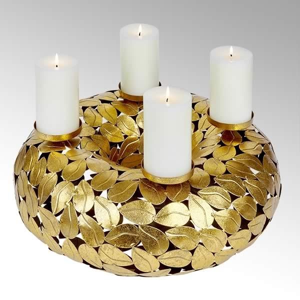 Kerzenhalter / Festkranz Atahualpa