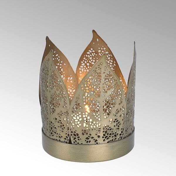 Teelichthalter Corona