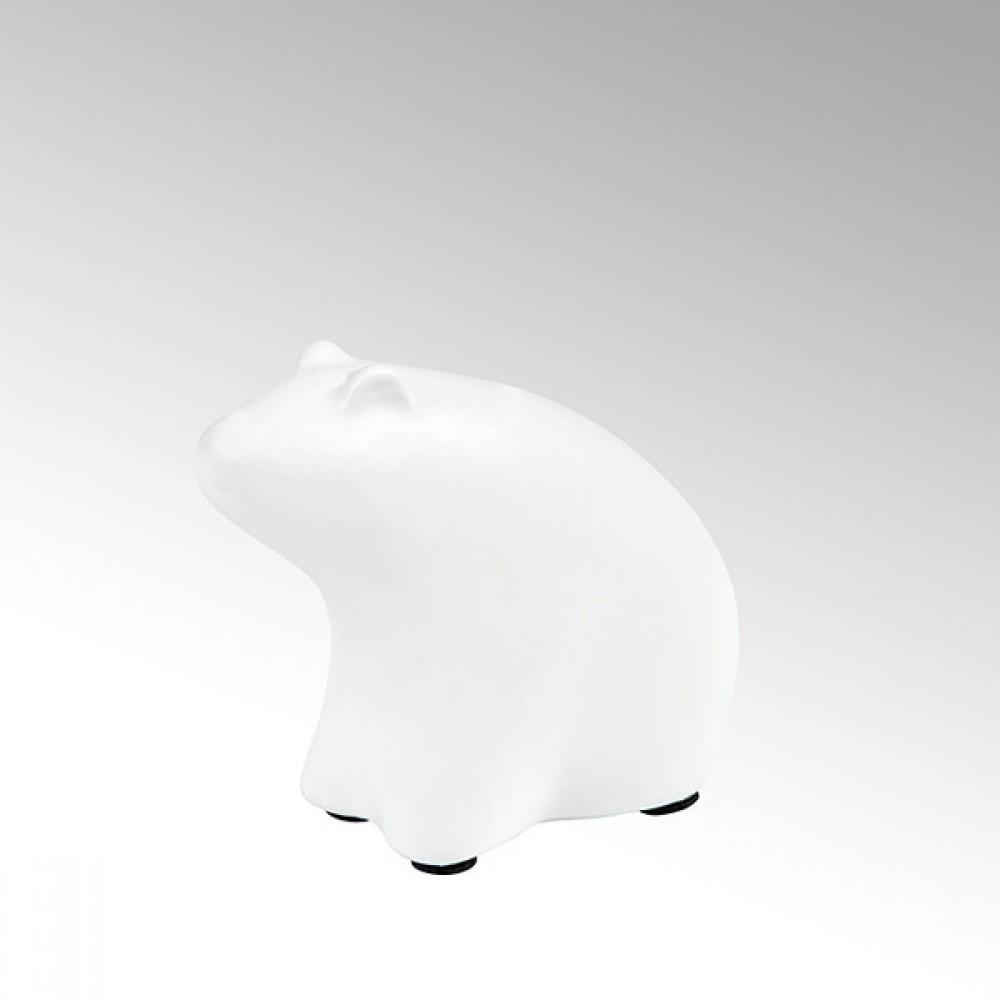 Lambert Dekofigur Bär Puh, Weiß, H 10 cm