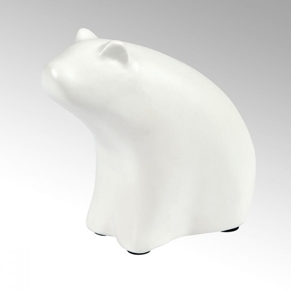 Lambert Dekofigur Bär Puh, Weiß, H 15 cm