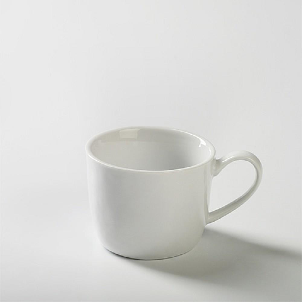 Lambert Espressotasse - Porzellan Piana, Weiß
