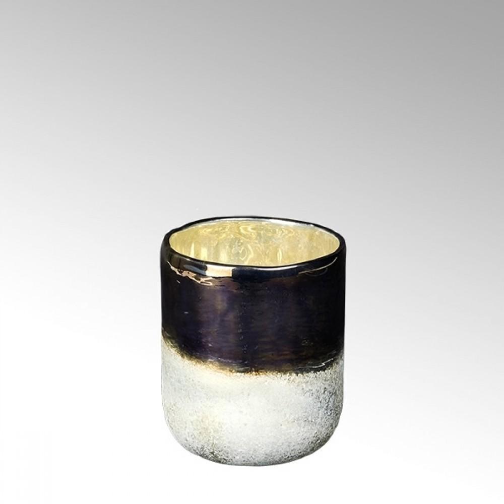 Lambert Glasvase / Windlicht Ombree, H 15 cm