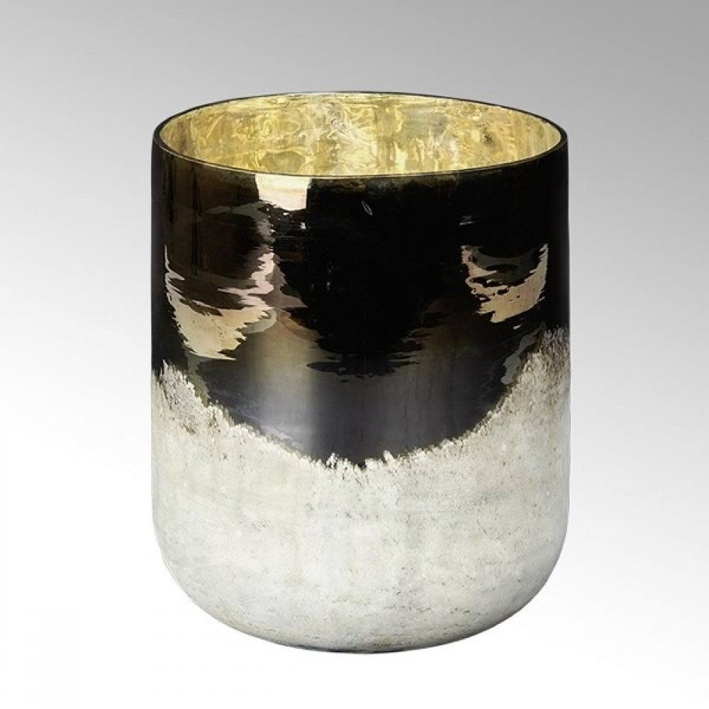 Lambert Glasvase / Windlicht Ombree, H 26 cm