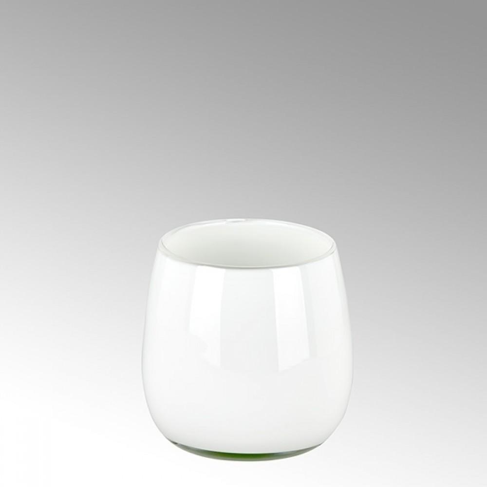 Lambert kleine Vase Pisano - Weiß