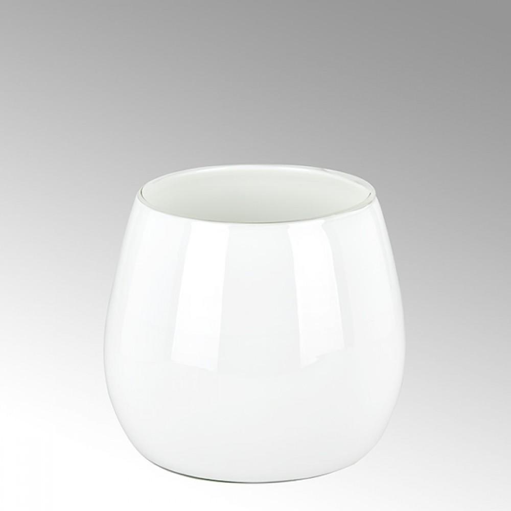 Lambert mittlere Vase Pisano - Weiß