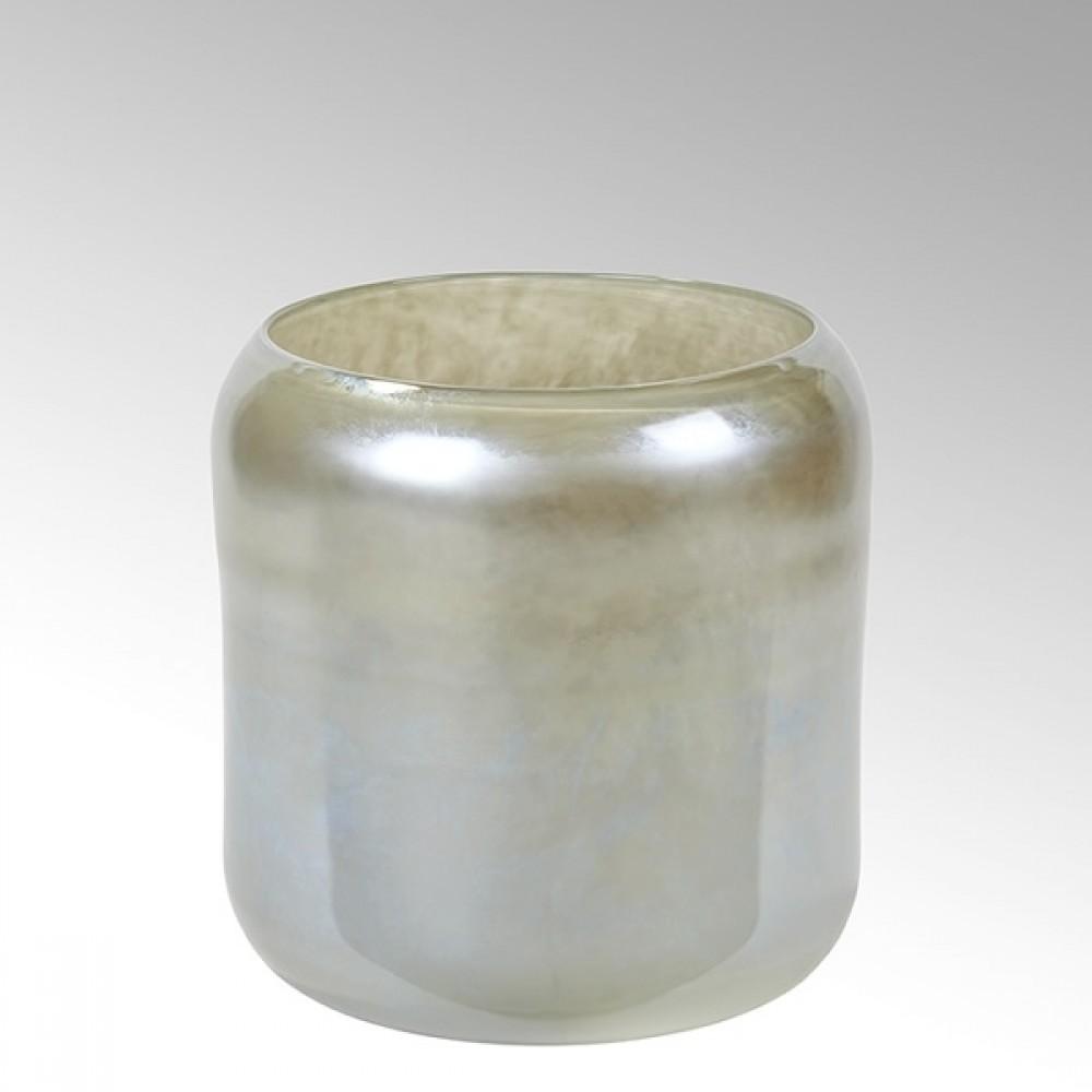 Lambert Glasvase Tiepolo, Nebel, H 27 cm