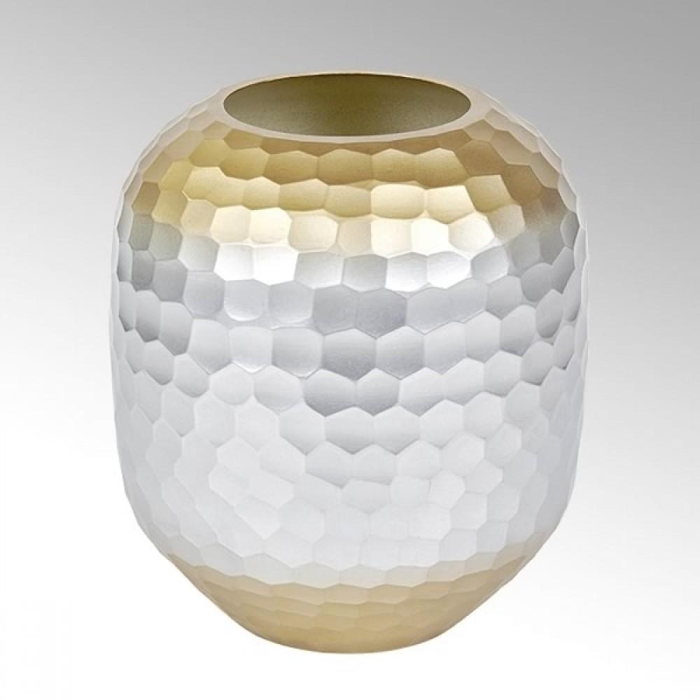 Lambert Glasvase Favo, H 27 cm
