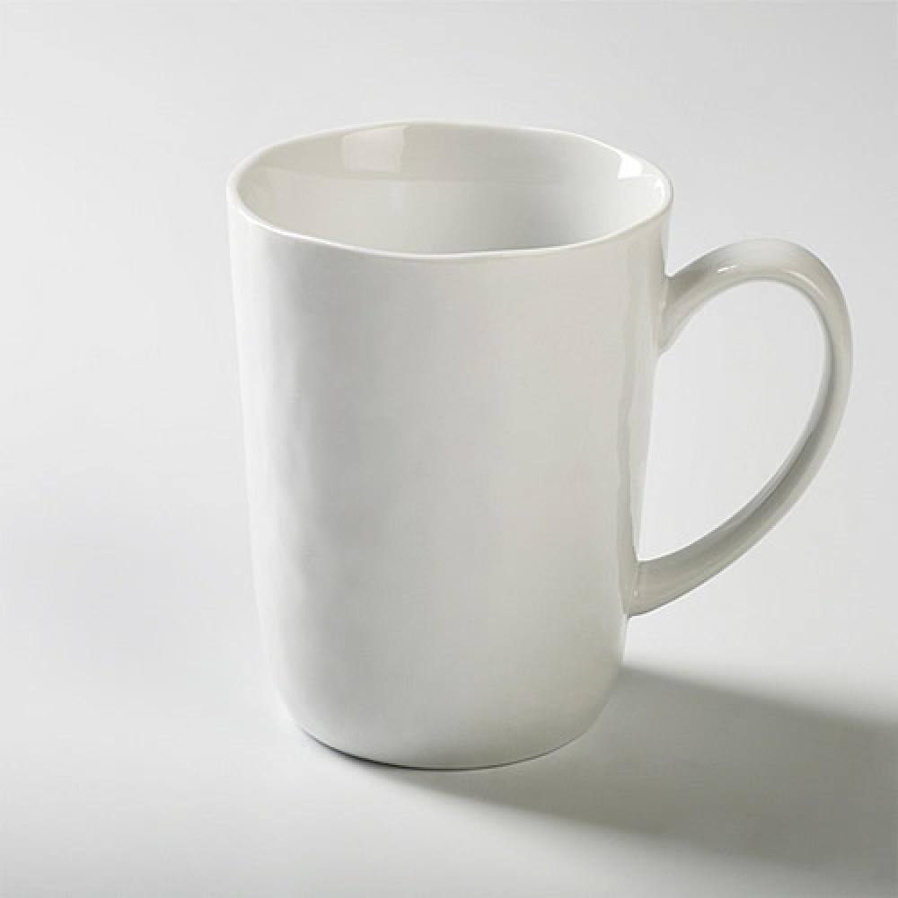 Lambert große Tasse / Kaffeetasse - Porzellan Piana, Weiß