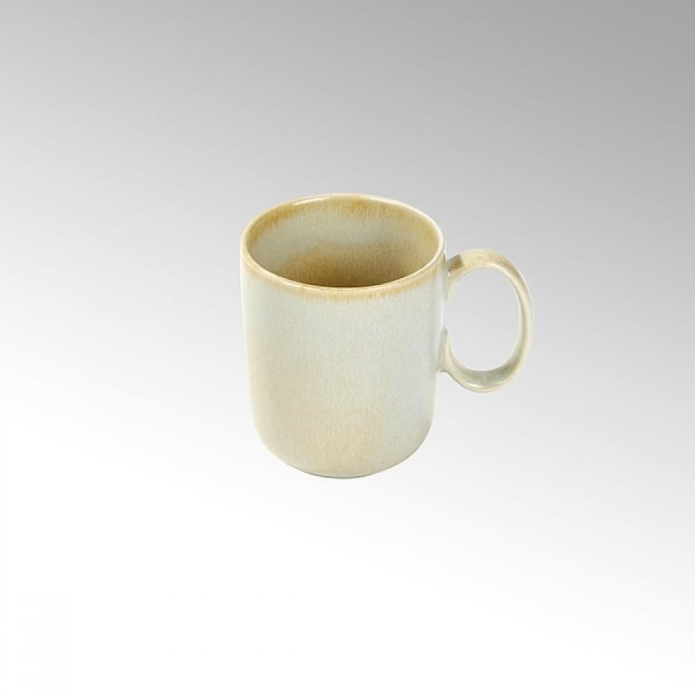 Lambert große Tasse / Kaffeetasse Bacoli, Stoneware, Bambus