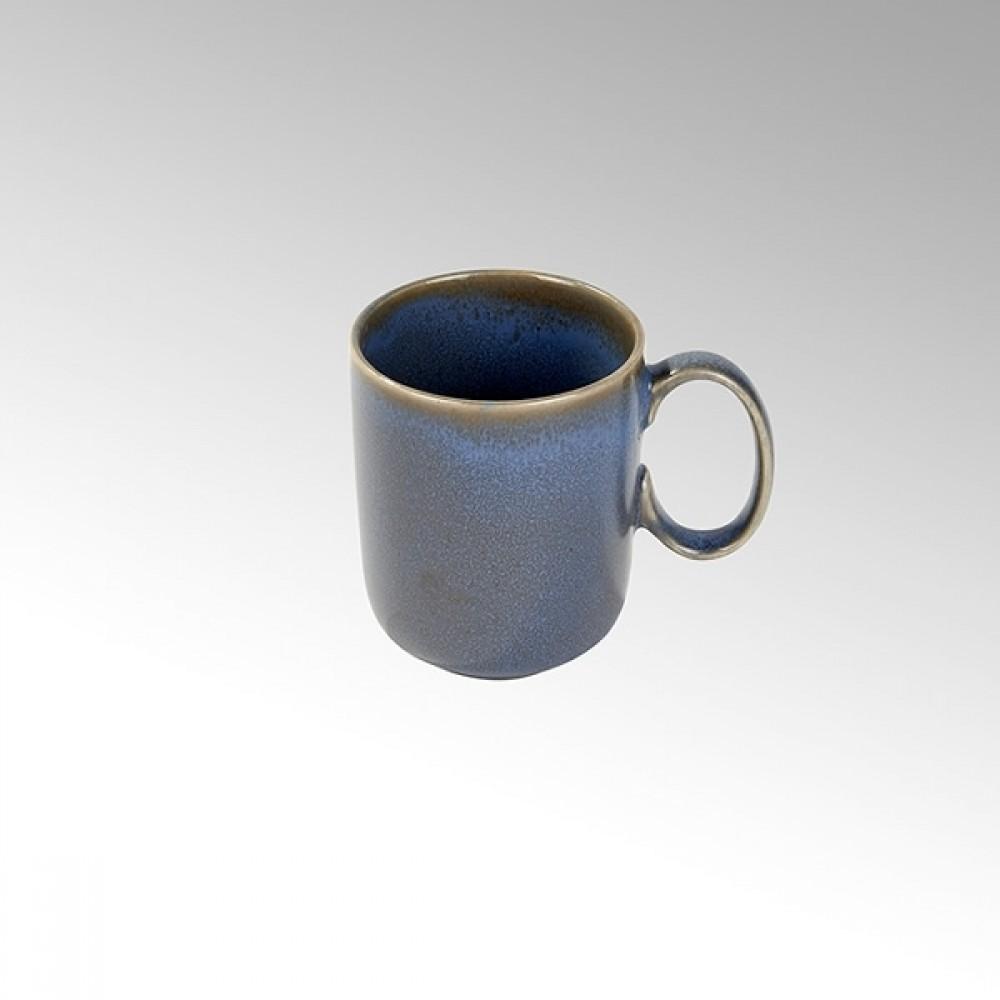 Lambert große Tasse / Kaffeetasse Bacoli, Stoneware, Basalt