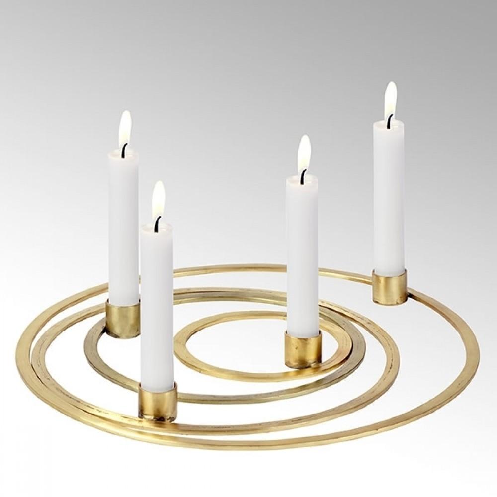 Lambert Kerzenhalter Areum, 4er-Set, Gold