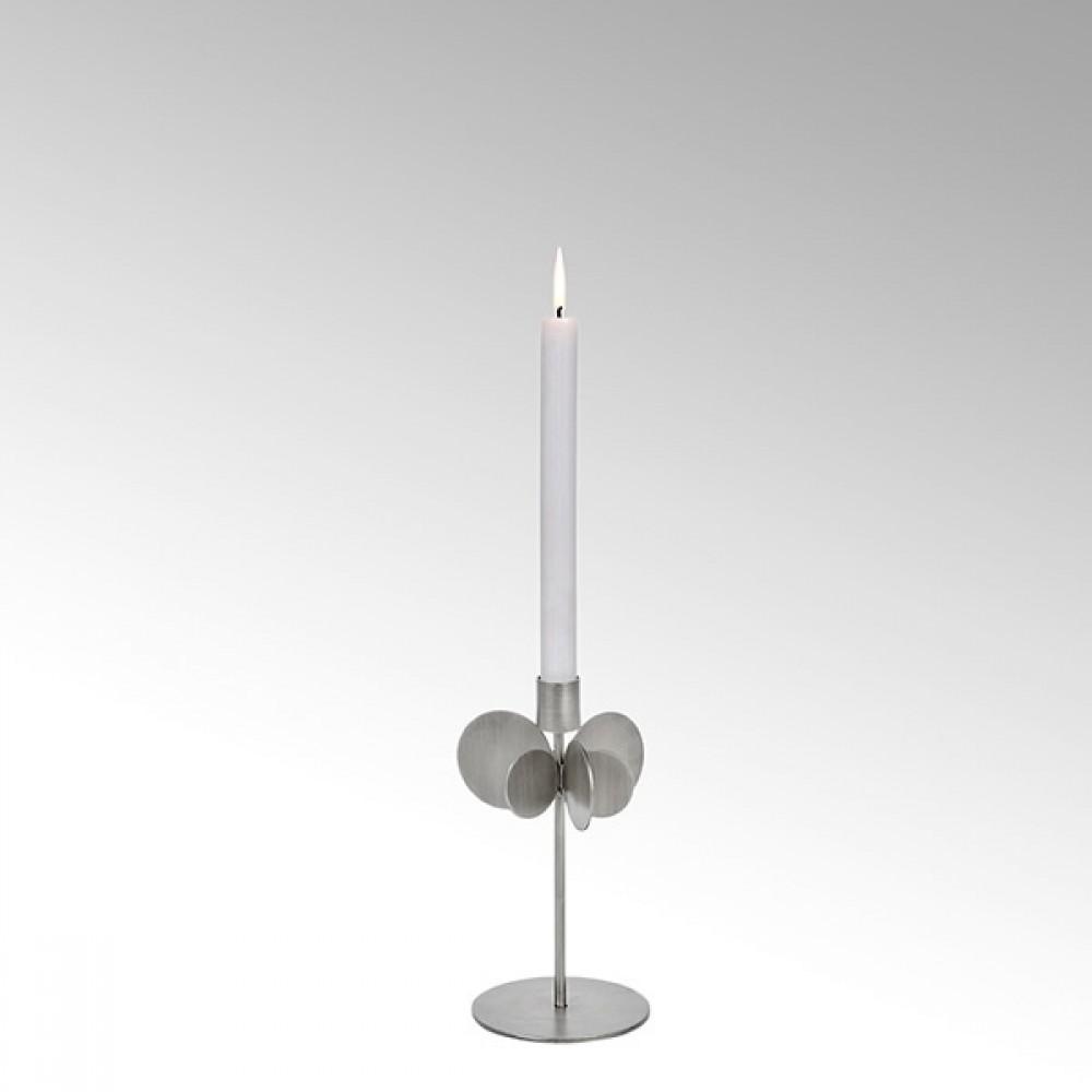 Lambert Kerzenhalter Hervee, Silber, H 26 cm