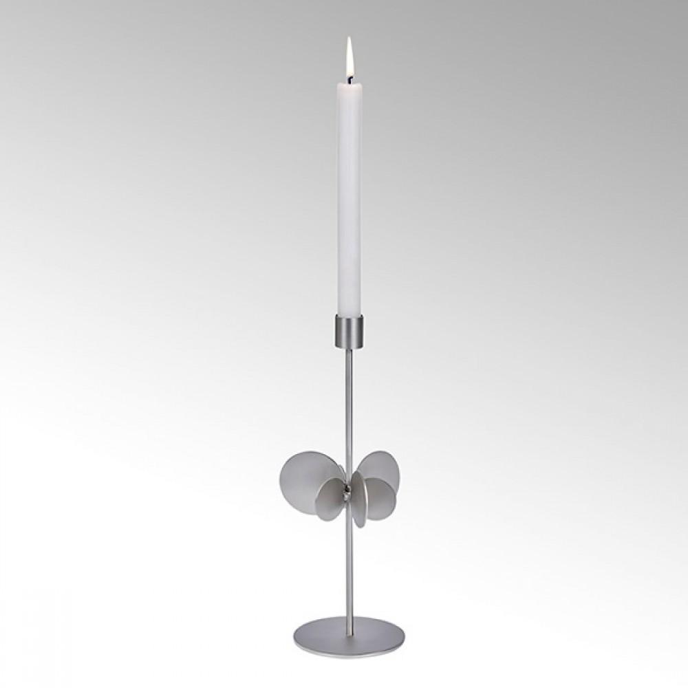 Lambert Kerzenhalter Hervee, Silber, H 30 cm