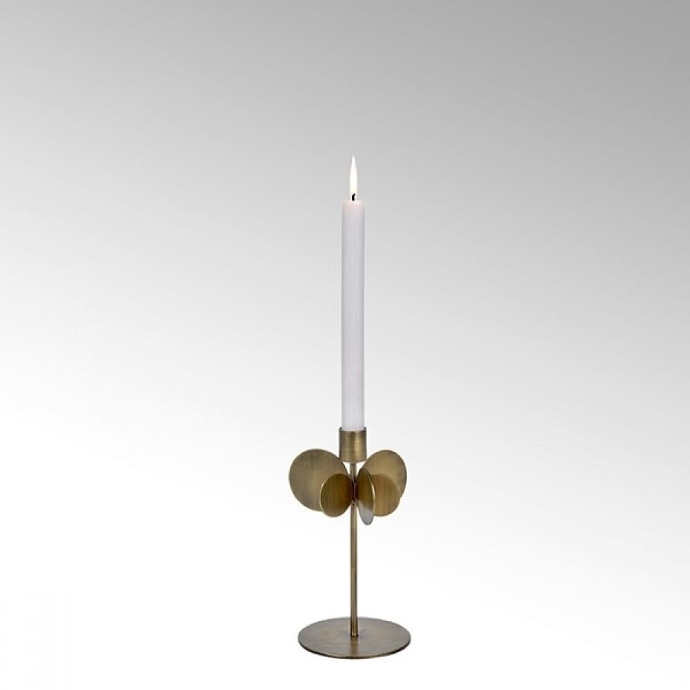 Lambert Kerzenhalter Hervee, Bronze, H 26 cm