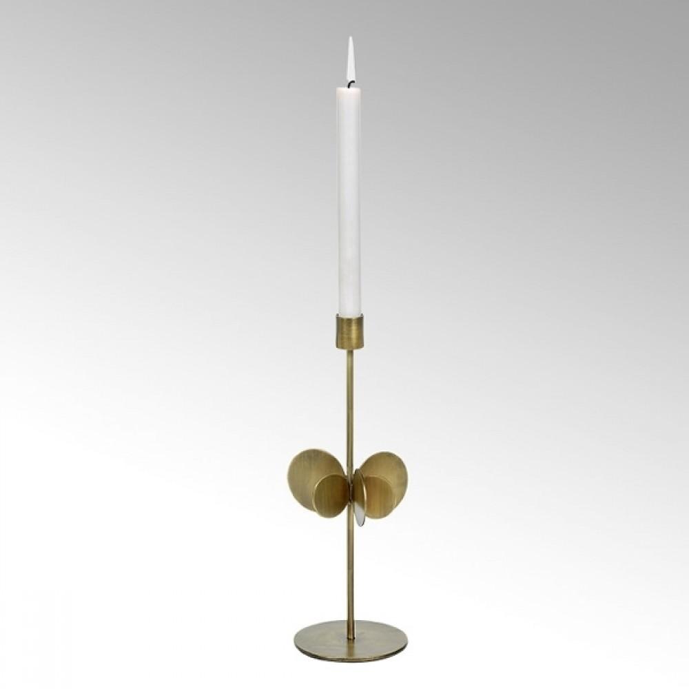 Lambert Kerzenhalter Hervee, Bronze, H 30 cm