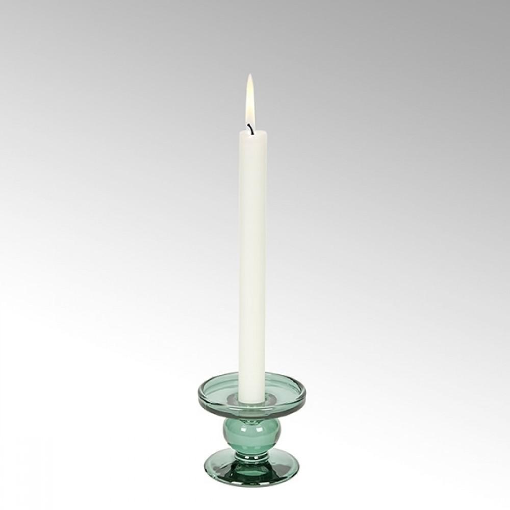 Lambert Kerzenleuchter Andratx, Salbeigrün, H 7 cm