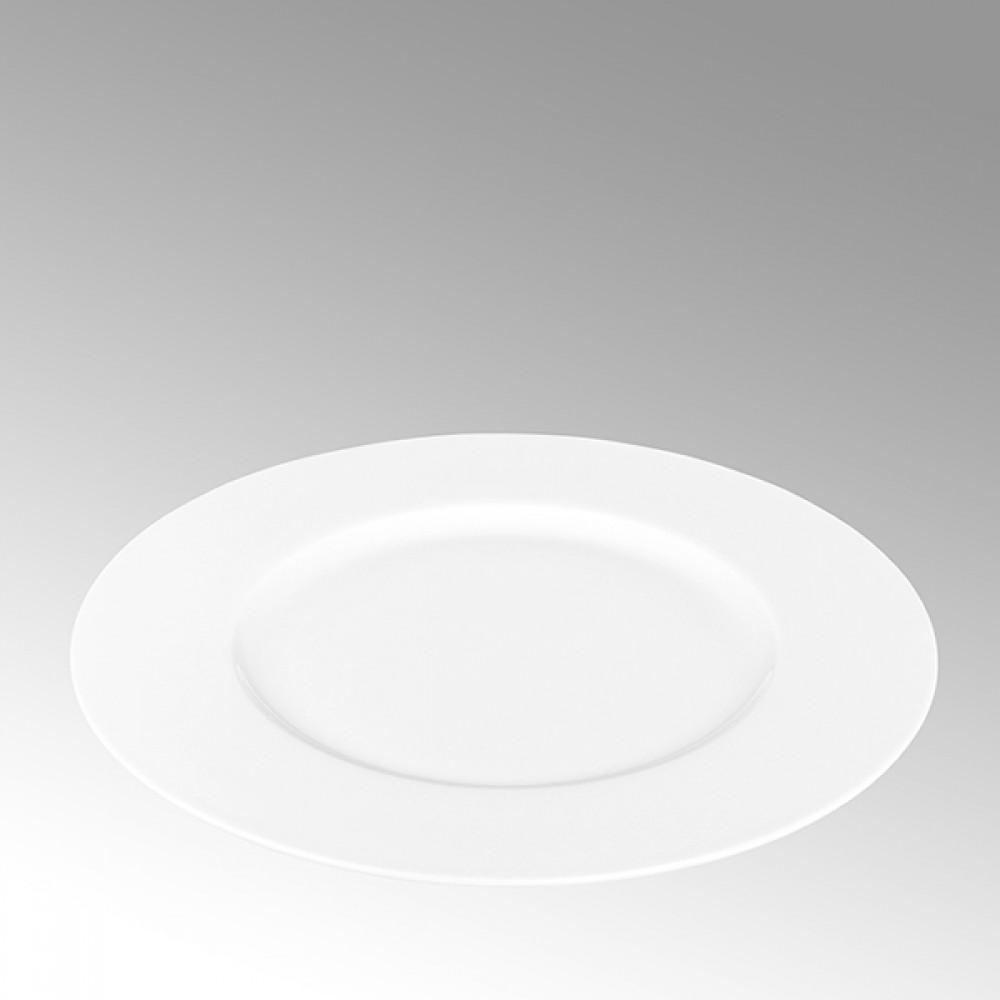 Lambert Frühstücksteller, Porzellan Serene - Weiß