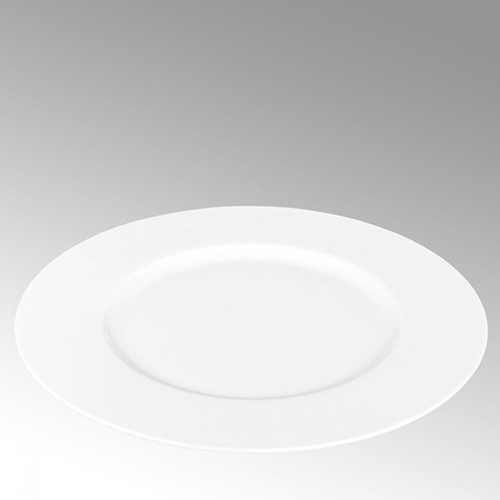Lambert Speiseteller, Porzellan Serene - Weiß