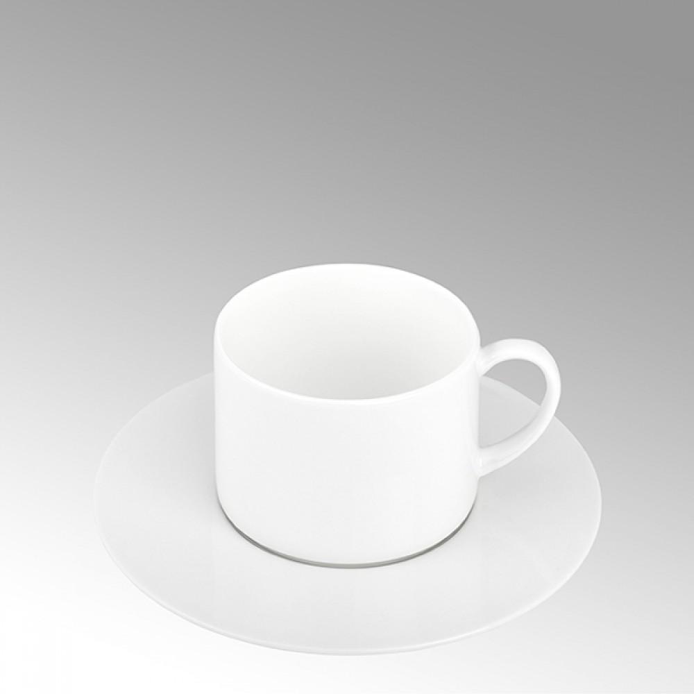 Lambert Teetasse / Kaffeetasse, Porzellan Serene - Weiß