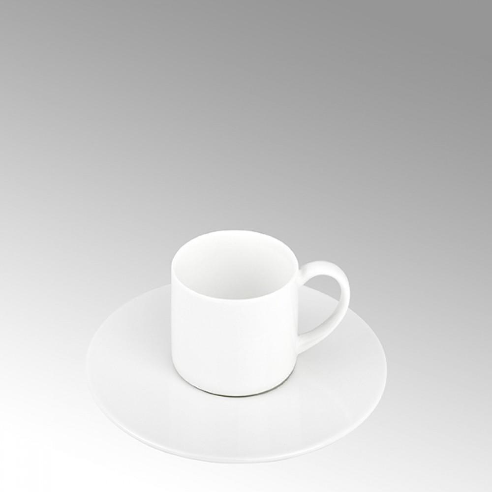 Lambert Espressotasse, Porzellan Serene - Weiß