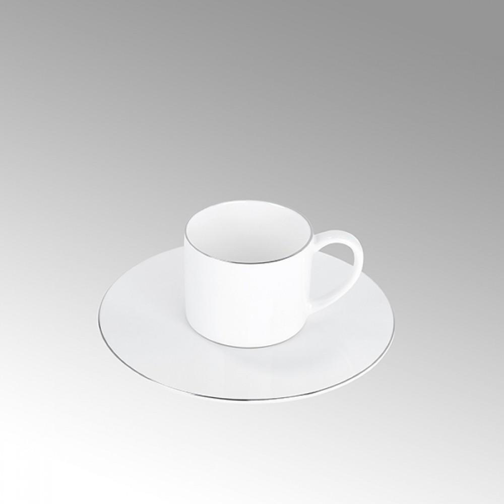 Lambert Espressotasse, Porzellan Serene - Platinumrand