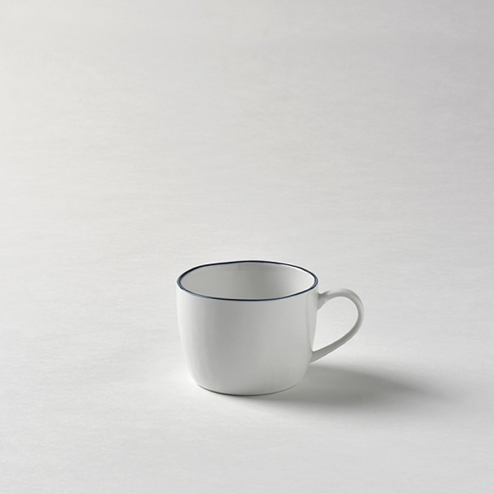 Lambert Kaffeetasse / Teetasse, Porzellan Piana - Basaltgrau
