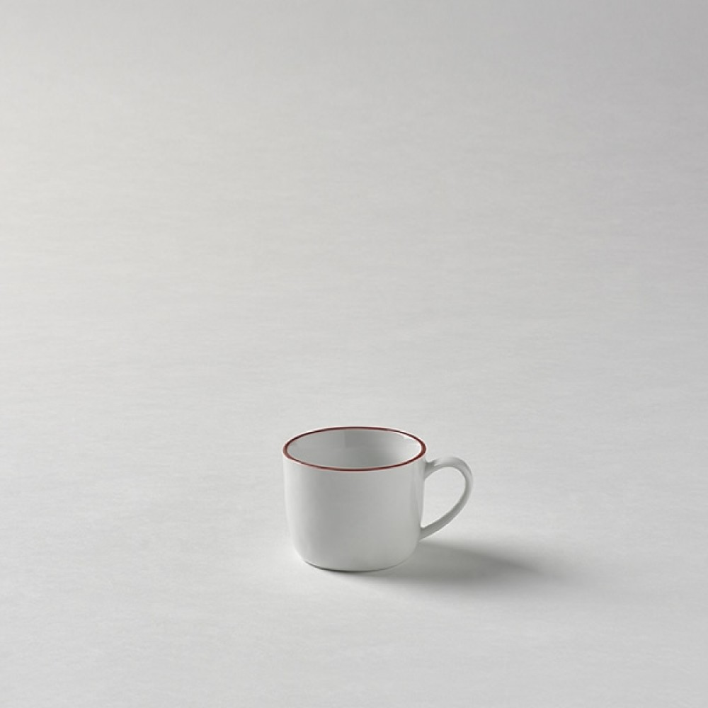 Lambert Espressotasse, Porzellan Piana - Rot