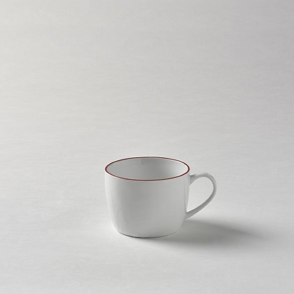 Lambert Kaffeetasse / Teetasse, Porzellan Piana - Rot