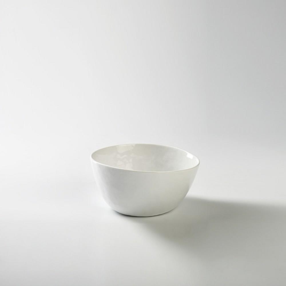 Lambert kleine Schüssel - Porzellan Piana, Weiß