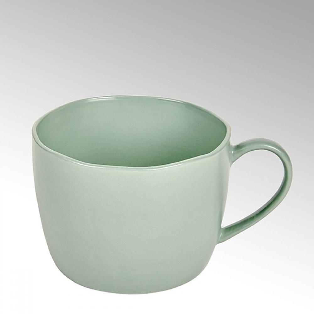 Lambert Kaffeetasse / Teetasse Piana, Stoneware, Celadon matt