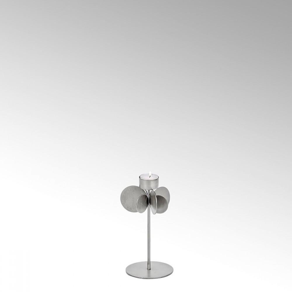 Lambert Teelichthalter Hervee, Silber, H 22 cm