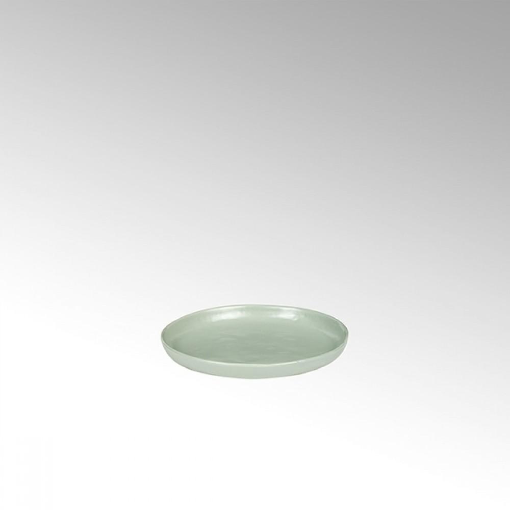Lambert Teller / Untertasse Piana, Stoneware, Celadon matt