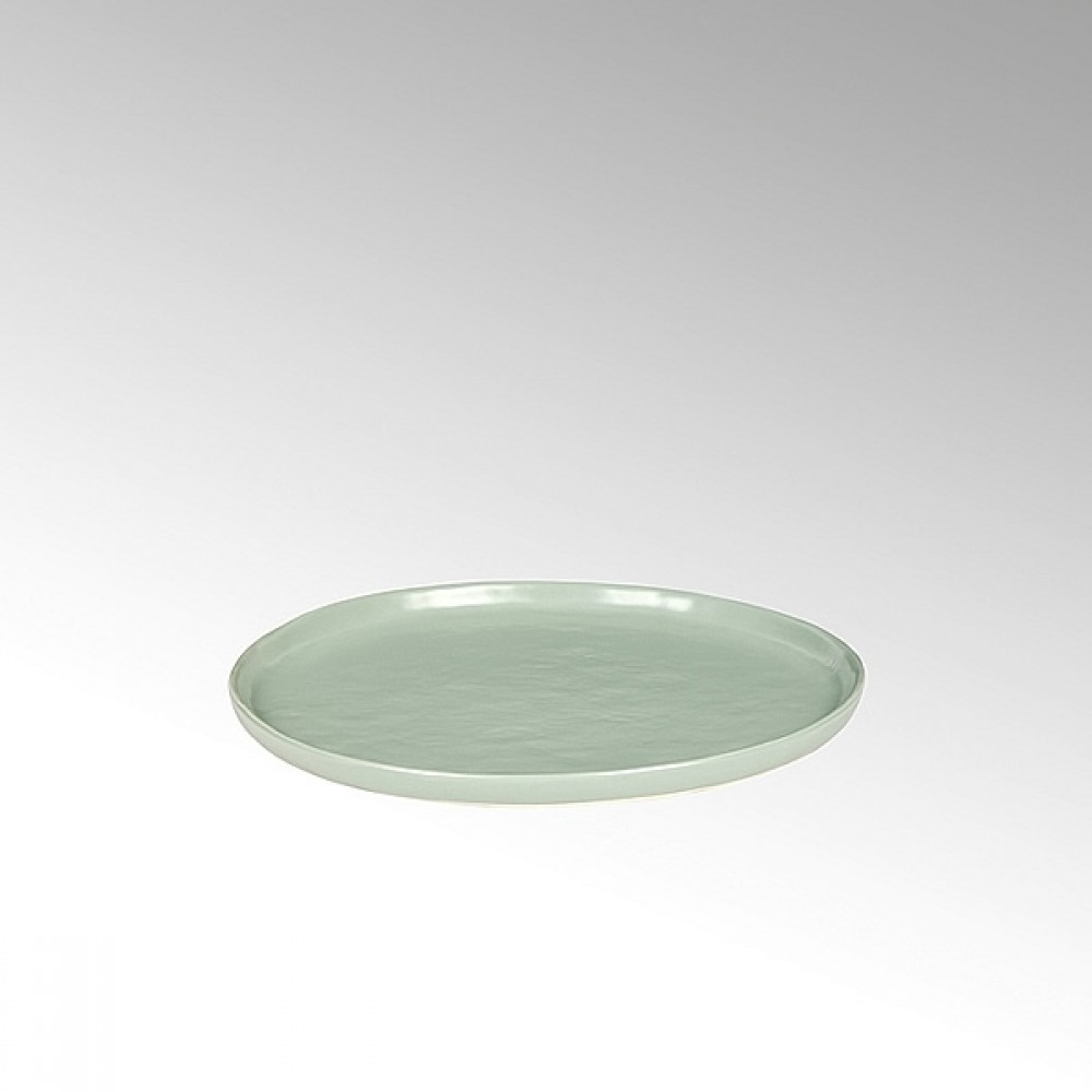 Lambert Teller / Kuchenteller Piana, Stoneware, Celadon matt