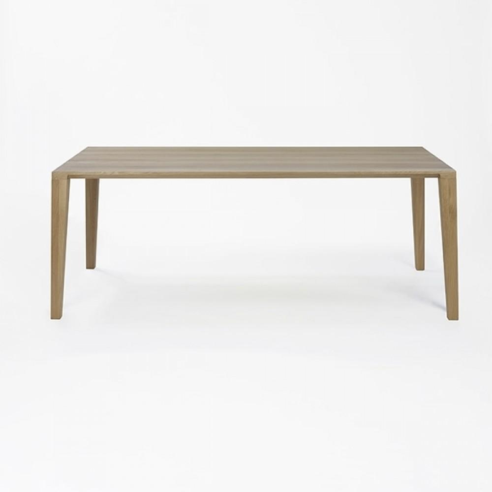 Lambert Tisch Aracol, Eiche weiß gekälkt, 90 x 200 cm
