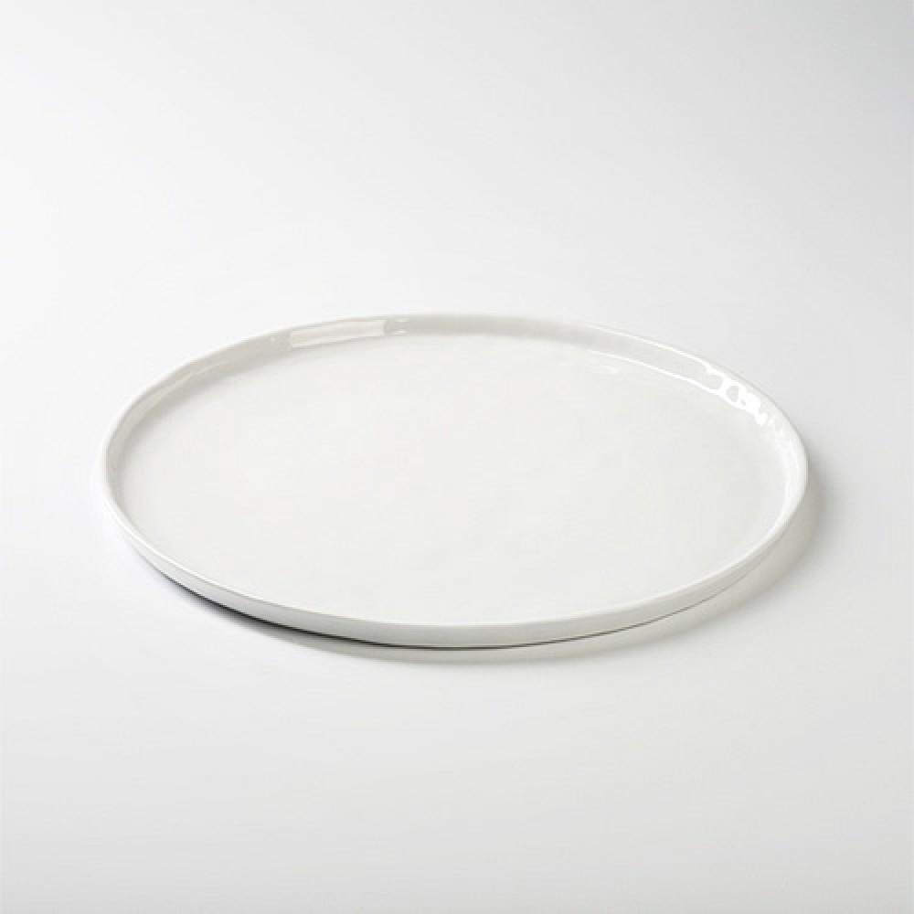 Lambert Teller / Vorspeisenteller - Porzellan Piana, Weiß