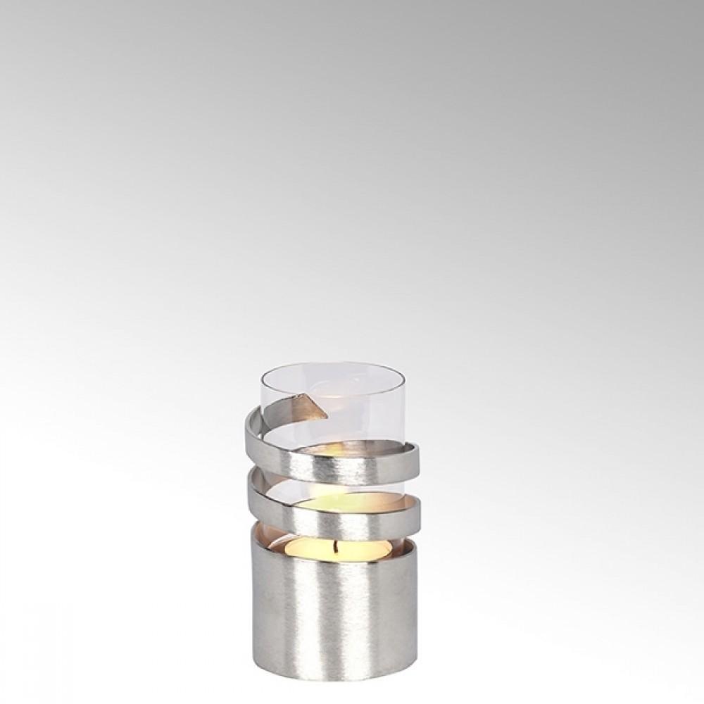 Lambert Windlicht Spiral, H 16 cm