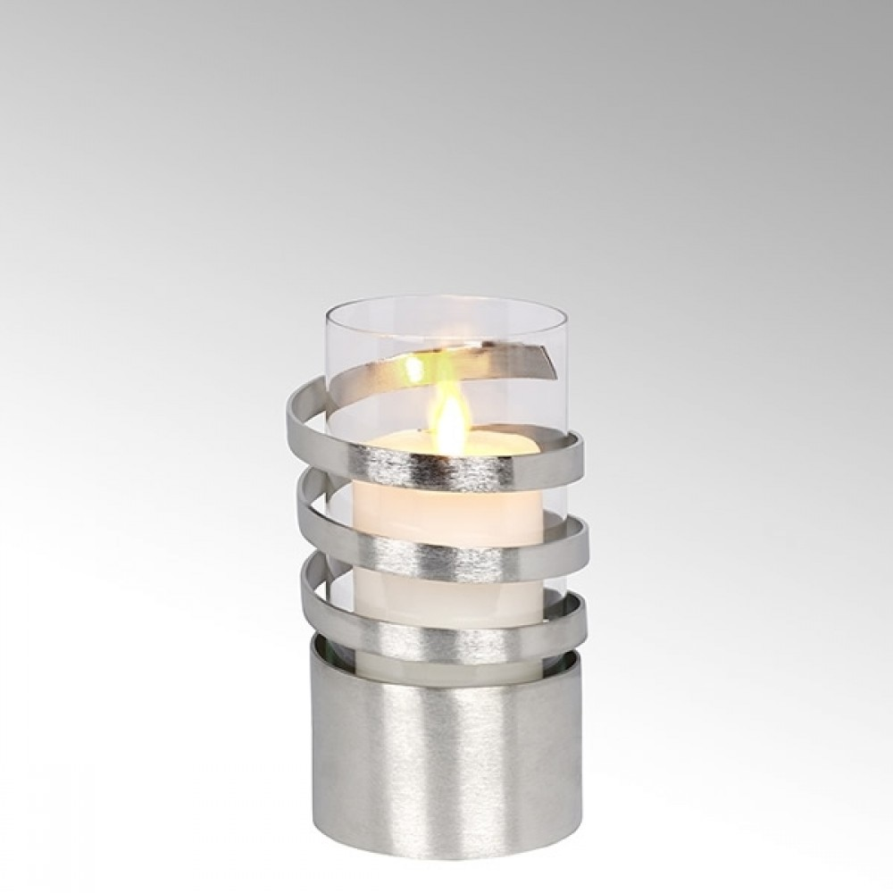 Lambert Windlicht Spiral, H 22 cm