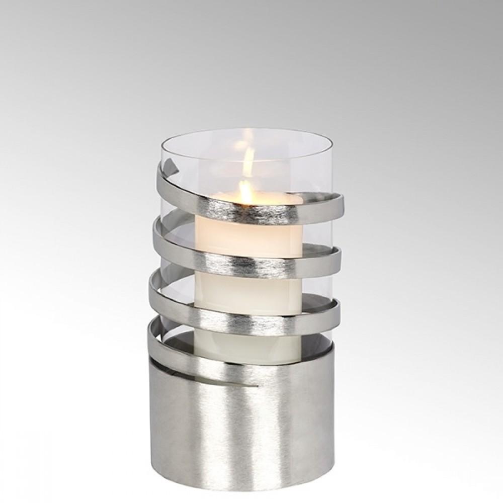 Lambert Windlicht Spiral, H 25 cm