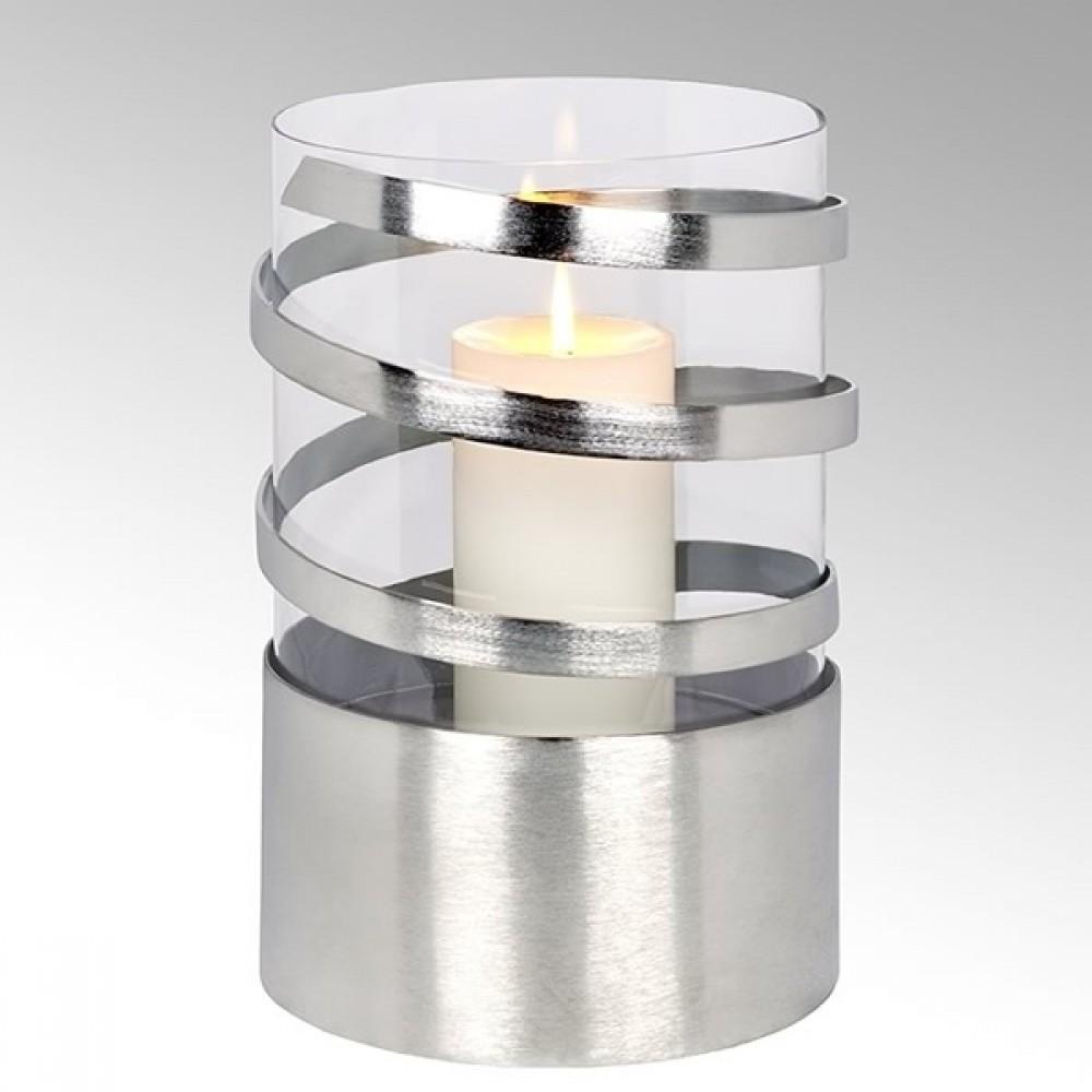 Lambert Windlicht Spiral, H 31 cm