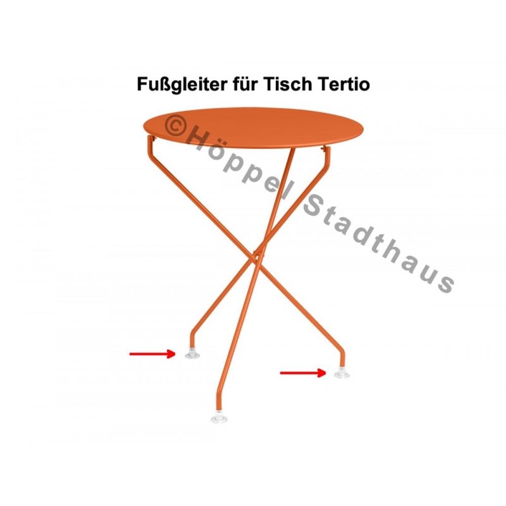 Fermob Fußgleiter für den Tisch Tertio