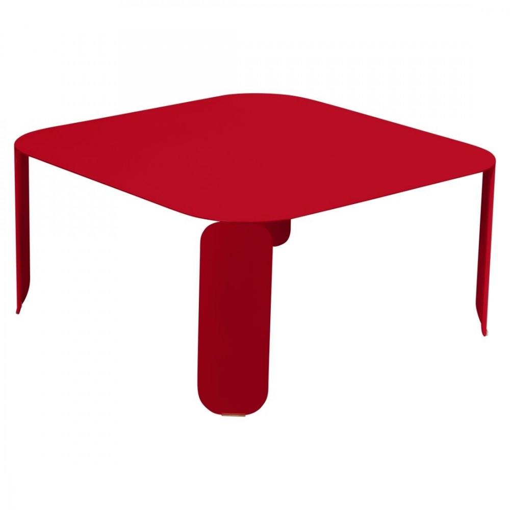 Fermob niedriger Tisch Bebop, 90 x 90 x 42 cm