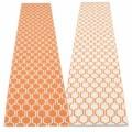 pale orange / vanilla / warm grey stripe