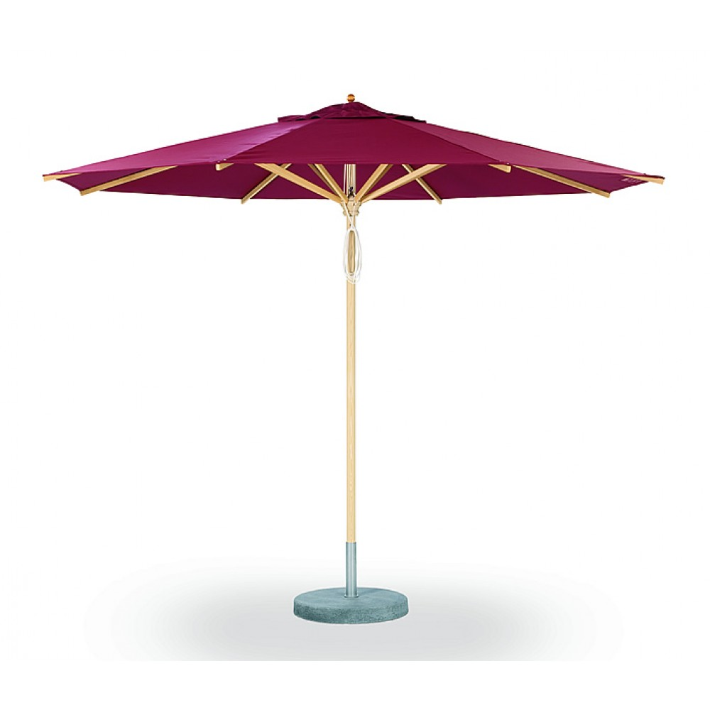 Weishäupl Basic Schirm, Ø 335 cm, 8-eckig - Stoffbespannung ACRYLTUCH